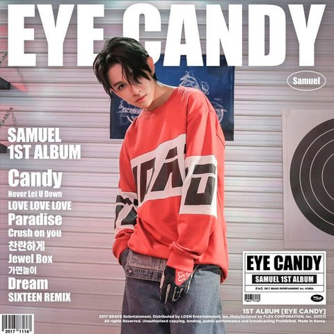 SAMUEL - 1st Album [EYE CANDY]