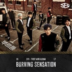 SF9 - 1st Mini Album [BURNING SENSATION]