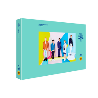 SHINee - DVD SHINee WORLD IV [THE 4TH STAGE]