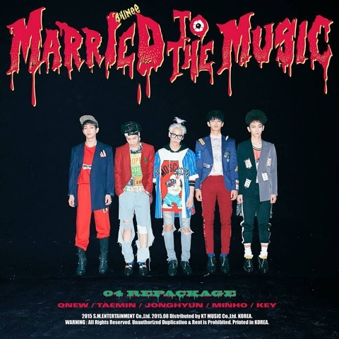 SHINee - 4th Album Repackage [MARRIED TO THE MUSIC]