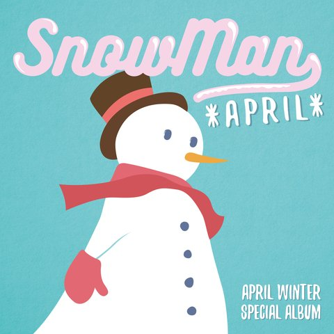 APRIL - Winter Special Album [SNOWMAN]