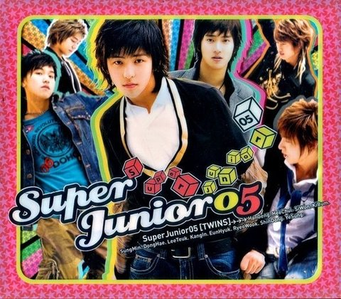 SUPER JUNIOR - 1st Album [SUPERJUNIOR 05]