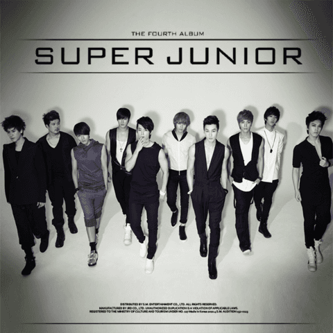 SUPER JUNIOR - 4th Album Repackage [BONAMANA]