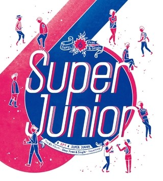SUPER JUNIOR - 6th Album Repackage [SPY]