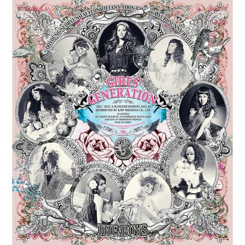 GIRLS' GENERATION - 3rd Album [THE BOYS]