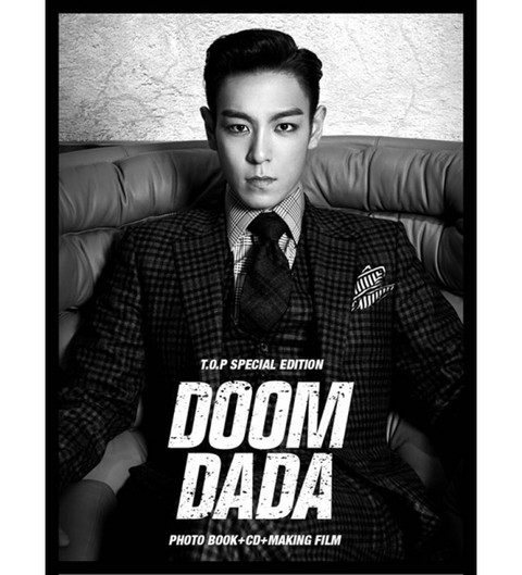 T.O.P - Special Edition [DOOM DADA] (Photo Book + CD + Making Film + File Binder)