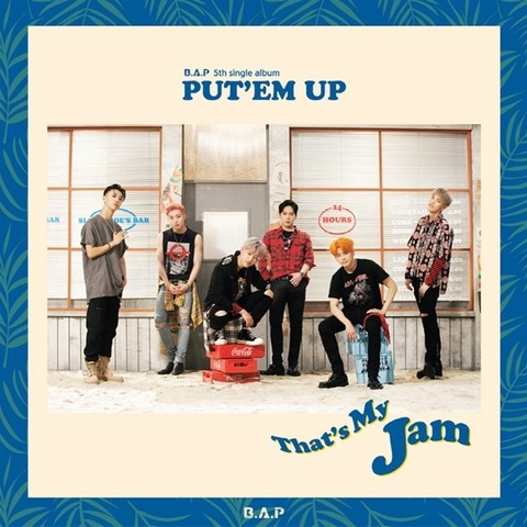 B.A.P - 5th Single Album [PUTEM UP]