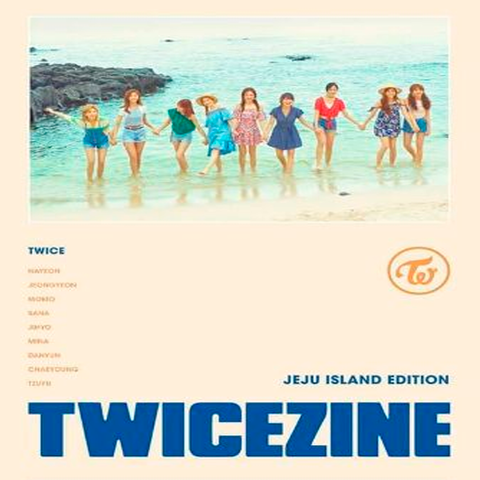 TWICE - Photobook [TWICEZINE JEJU ISLAND EDITION]