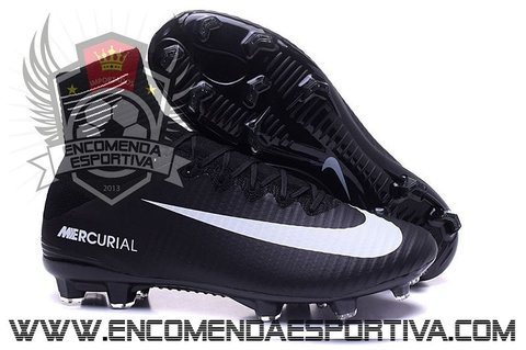 Nova Chuteira Mercurial Superfly V Black FG