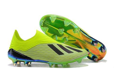 Chuteira Campo adidas X 18.1 FG Full Freen + GLow 51e3f188279b0
