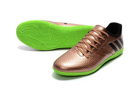 adidas messi 16.3 IC Salao bronze