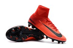 NIke Mercurial Superfly V AG Grama Hot Red