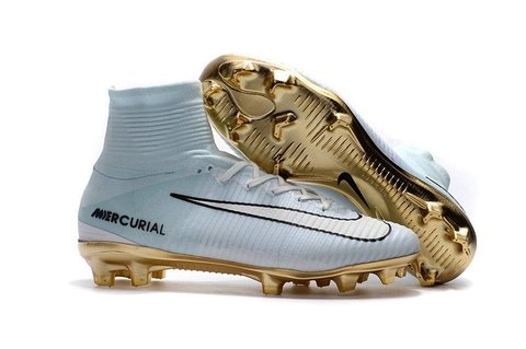 NIke Mercurial Superfly V FG CR7 GOLD FG