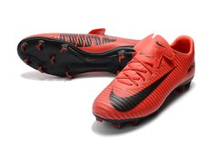 Nike Mercurial Vapor XI FG Hot Red Cano baixo
