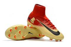 NIke Mercurial Superfly V FG Red Lin Montain