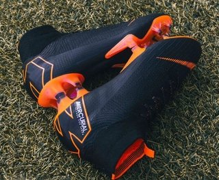 Mercurial Superfly VI 360 Elite FG Black Back Orange