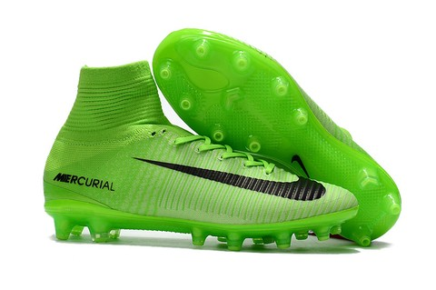 NIke Mercurial Superfly V AG Green Artificial