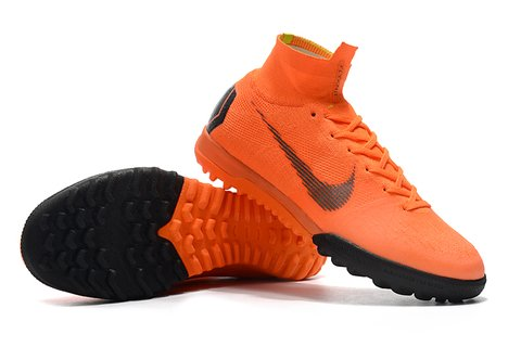 NIke SuperflyX 6 Elite TF Society laranja