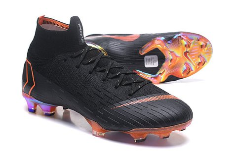 Nike Mercurial Superfly VI Elite Preta Crome