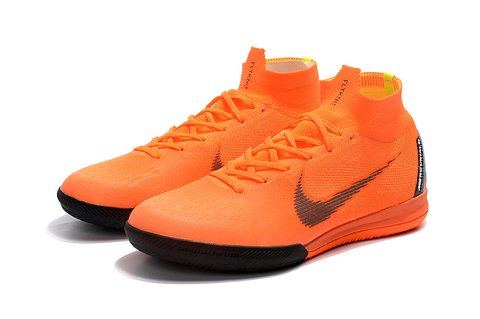 NIke SuperflyX 6 Elite IC Salao laranja