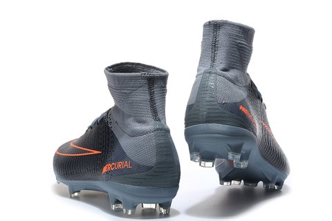NIke Mercurial Superfly V FG Grey Black - comprar online