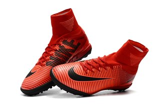 NIke Mercurial Superfly V TF Hot Red