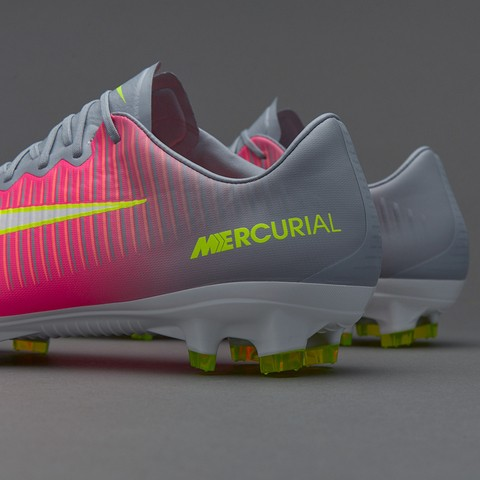NIke Mercurial Superfly V FG Cano curto Silver red na internet