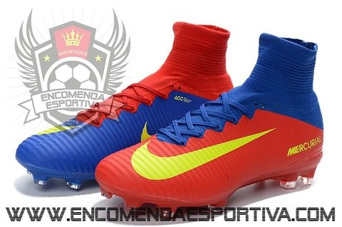 Chuteira Mercurial Superfly V Red / Blue - comprar online