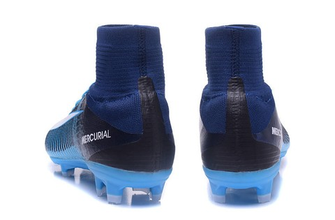 NIke Mercurial Superfly V FG Full Blue - encomenda esportiva