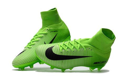 NIke Mercurial Superfly V AG Green Artificial - encomenda esportiva
