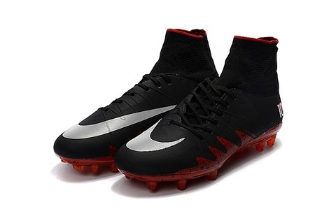 Hypervenom Phantom II FG Black Red - encomenda esportiva