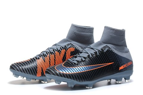 NIke Mercurial Superfly V FG Grey Black - encomenda esportiva