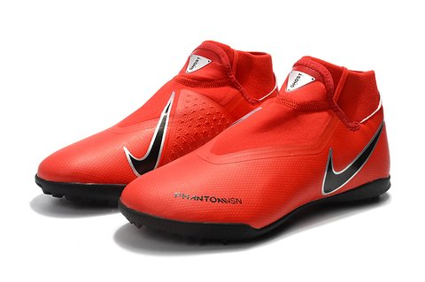 Nike Phantom Vision Elite TF Vermelha Society