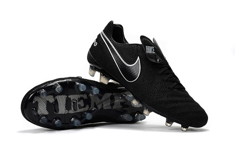 New Nike Tiempo Legend VI FG Full Black - loja online