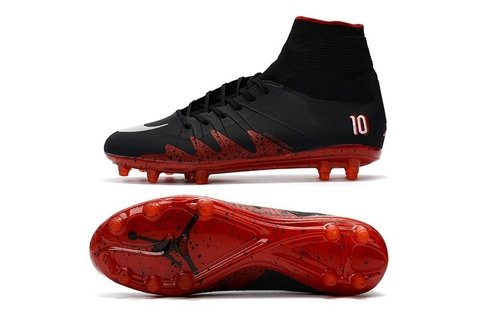 Hypervenom Phantom II FG Black Red - loja online