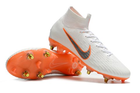 NIKE Mercurial Superfly VI 360 Elite SG Branca fundo Chroma