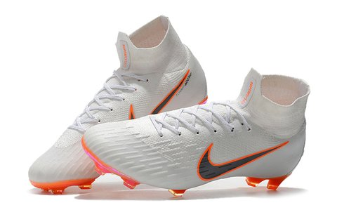NIKE Mercurial Superfly VI 360 Elite FG Branca fundo Chroma