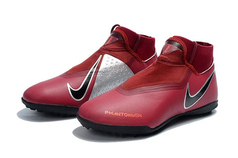 Nike Phantom Vision Elite TF Rubro Society