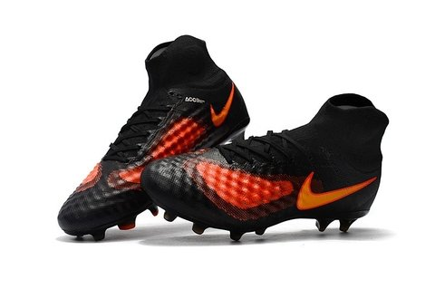 Nike Magista obra II FG Black Orange
