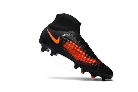 Nike Magista obra II FG Black Orange - comprar online