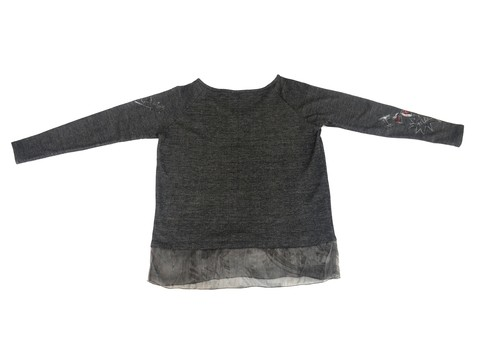 Maureene Dinar Moments Sweater with gauze on internet