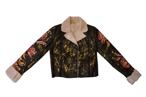 Maureene Dinar Geisha jacket Argentine leather
