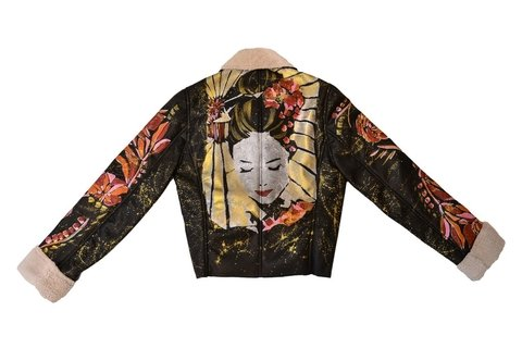 Maureene Dinar Geisha jacket Argentine leather  - online store