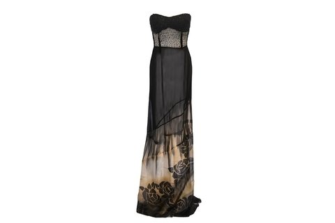 Maureene Dinar Long Dress strapless