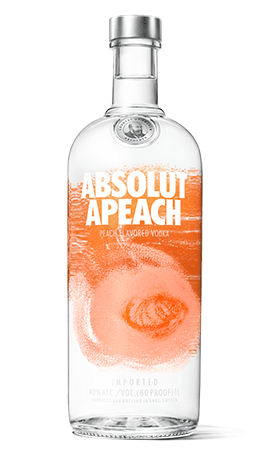 Absolut Apeach x 750 cc Vodka