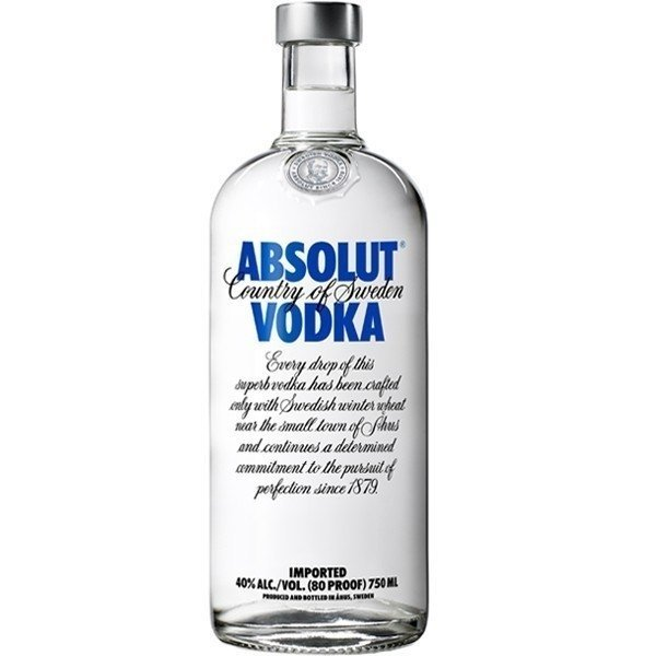 Absolut Azul 750 cc Vodka