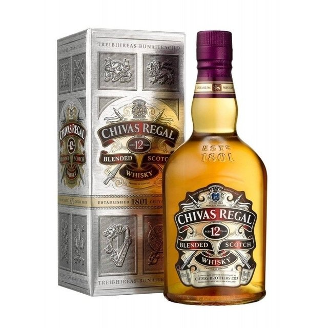 Chivas Regal 12 Años x 1000 cc Whiskies