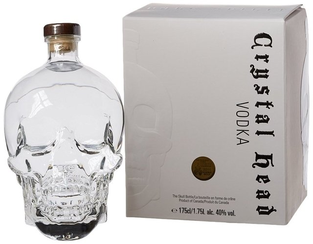 Crystal Head 1750 cc Destilados