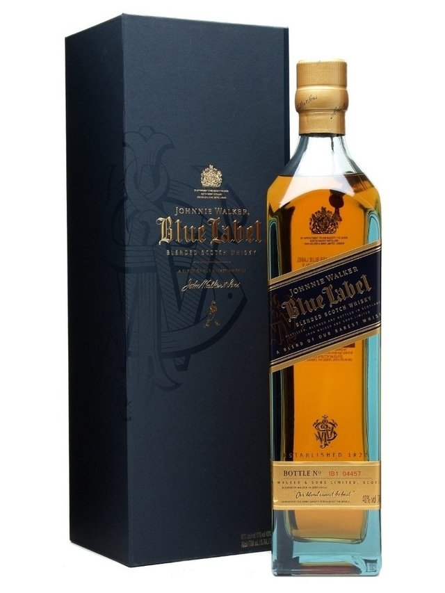 Jhonnie Walker Blue Level 750 cc Whiskies