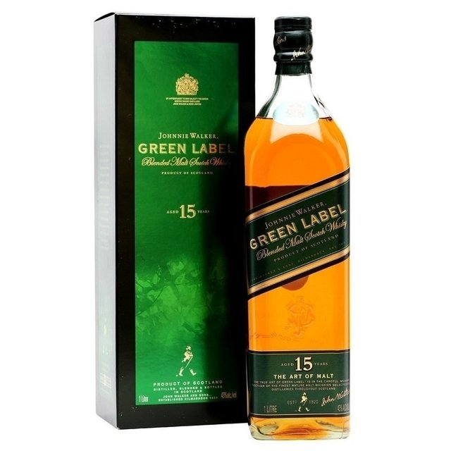 Jhonnie W Green Labbel 1000 cl Whiskies